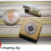 Shopping Bag: Maybelline, L'Occitane & Outros