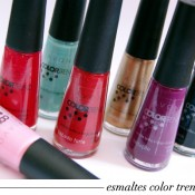 Esmaltes ColorTrend Avon: Swatches