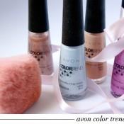 Coleção Color Trend Avon Ballet: Swatches