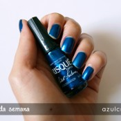 Esmalte da Semana: Azulcrination