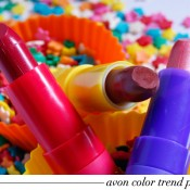 Avon Color Trend Pop Love: Swatches
