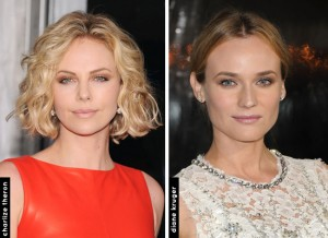 Charlize Theron e Diane Kruger