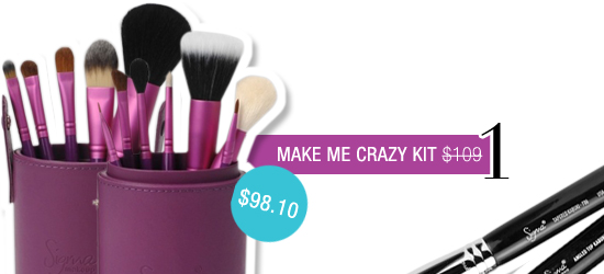 Stop by Sigma today and save a bundle on orders of high-quality cosmetics. Closeout merchandise is marked down by as much as 60%. Select from popular products, including concealer brushes, lip bases, powder brushes and eyeliners.