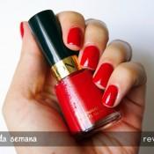 Esmalte da Semana: Revlon Red