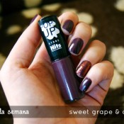 Esmalte da Semana: Sweet Grape & Air Glow