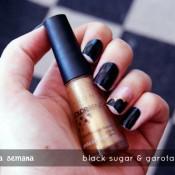 Esmalte da Semana: Black Sugar & Garota da Capa