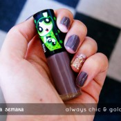 Esmalte da Semana: Always Chic & Golden Disco