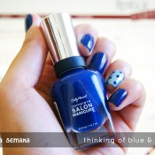 Esmalte da Semana: Thinking of Blue & Poseidon