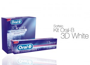 Sorteio Oral-B 3D White