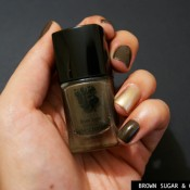 Esmalte da Semana: Brown Sugar & Gold Digger