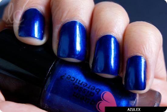Esmalte da Semana: Azulex