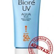 Testei: Bioré UV Aqua Rich