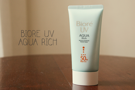 Bioré UV Aqua Rich