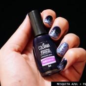 Esmalte da Semana: Mesquita Azul & Purple Shake