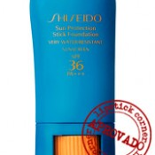 Testei: Shiseido Protective Foundation Stick SPF36